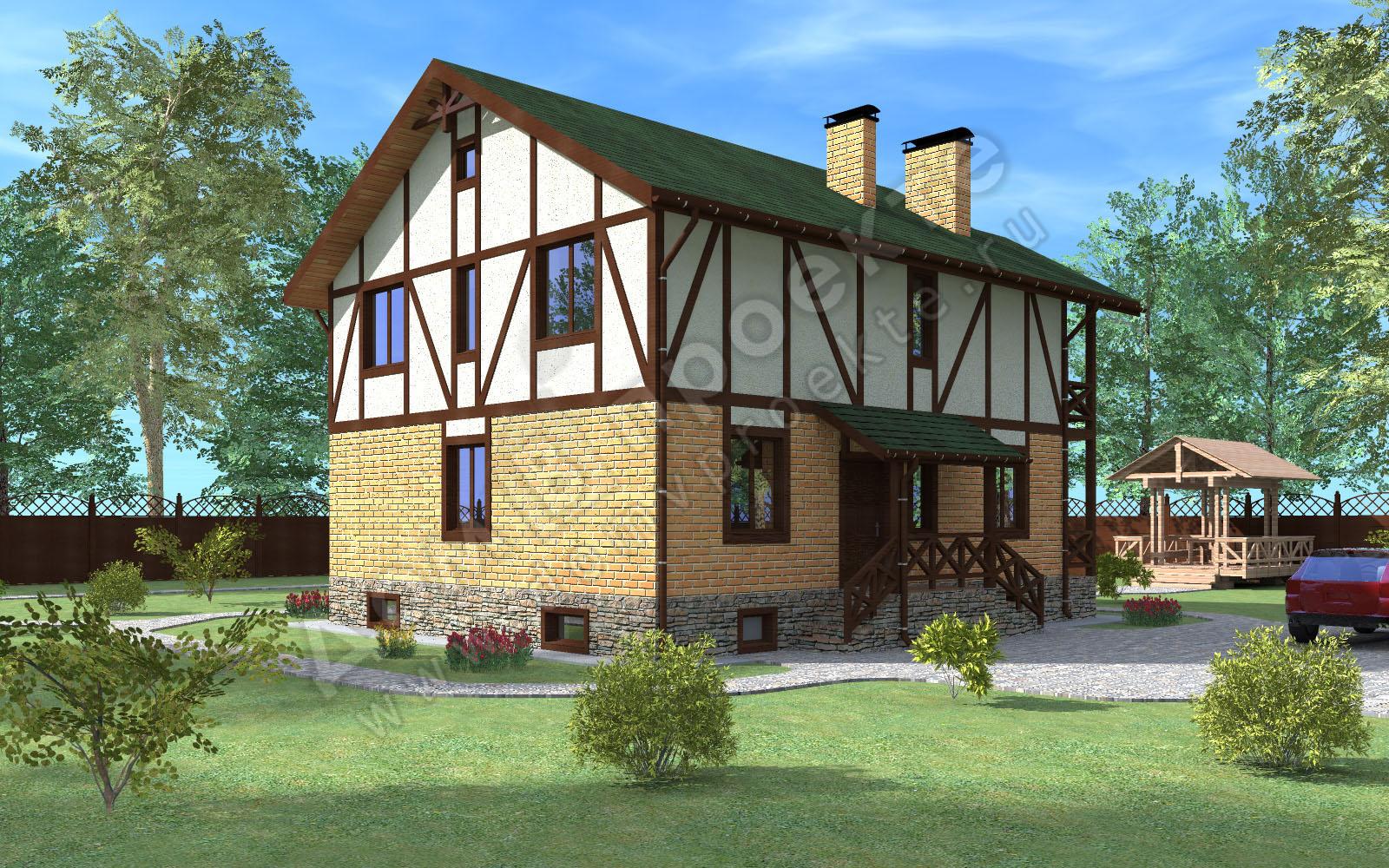 Проекты домов 3 d [4]