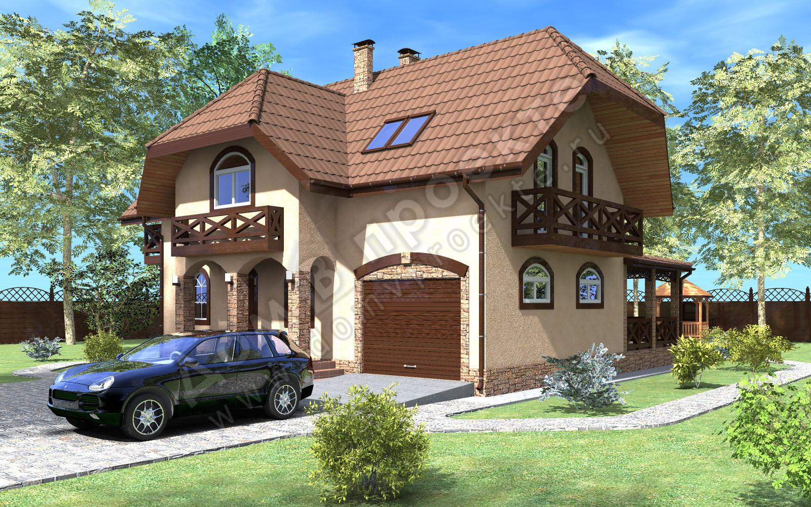 Проекты домов 3 d [5]