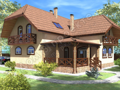 Проекты домов 3 d [6]