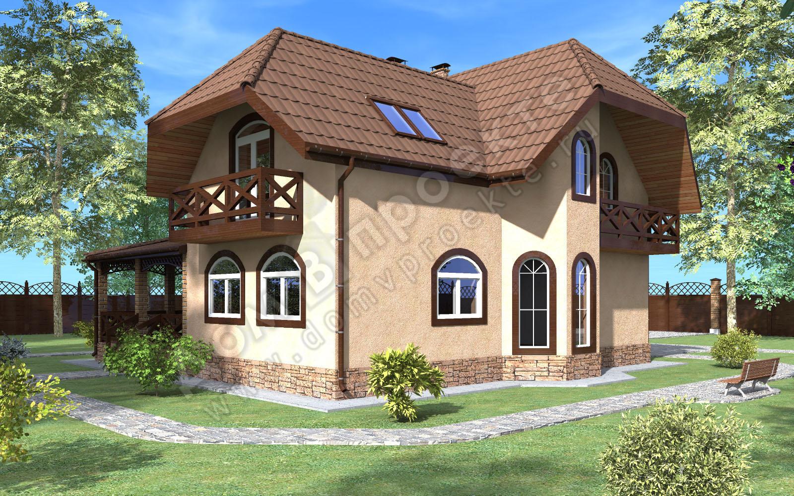 Проекты домов 3 d [7]