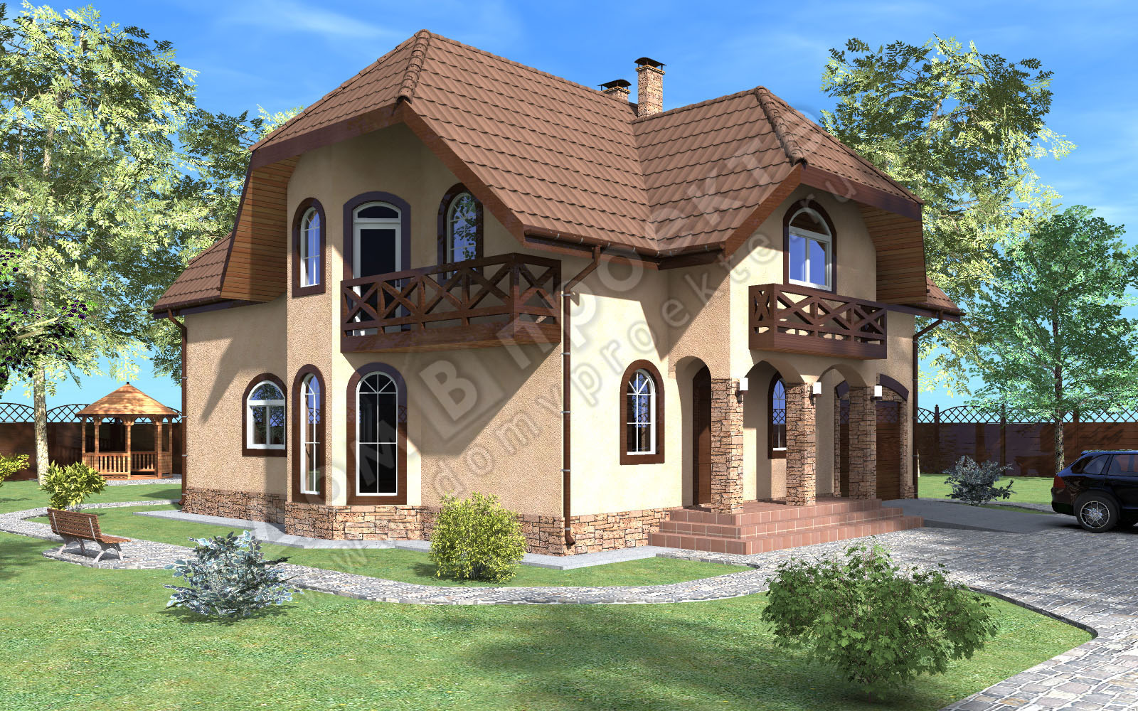 Проекты домов 3 d [8]