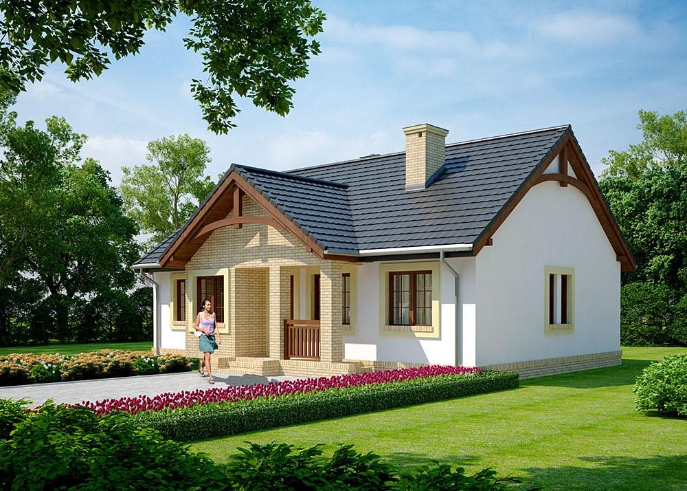 проекты домов для небольших участков