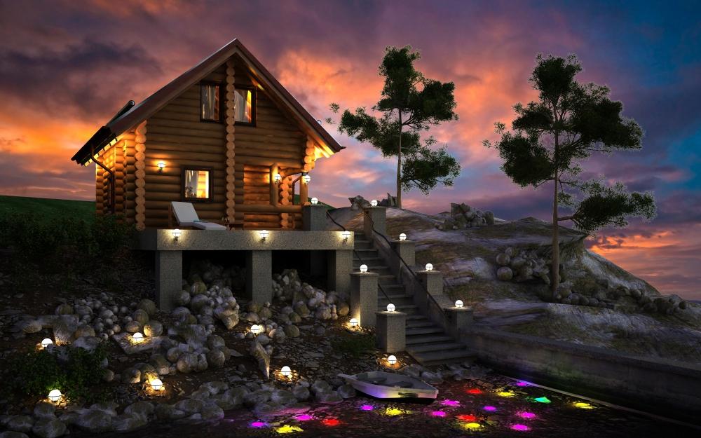 проекты домов из бревна кострома