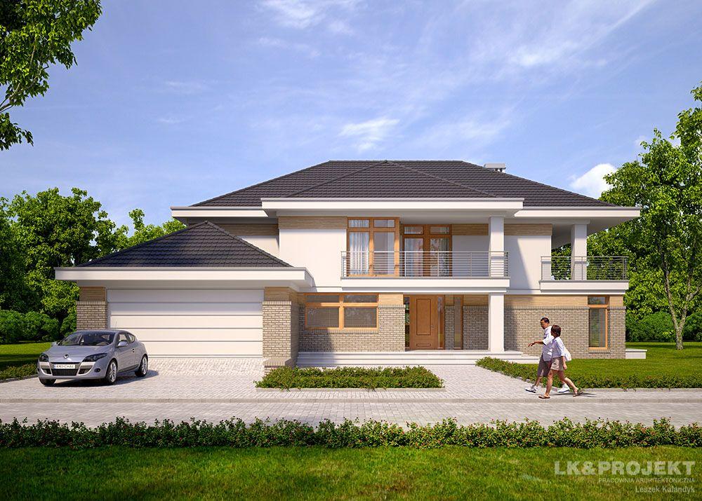 Проекты домов из пеноблока 8х10 - пример