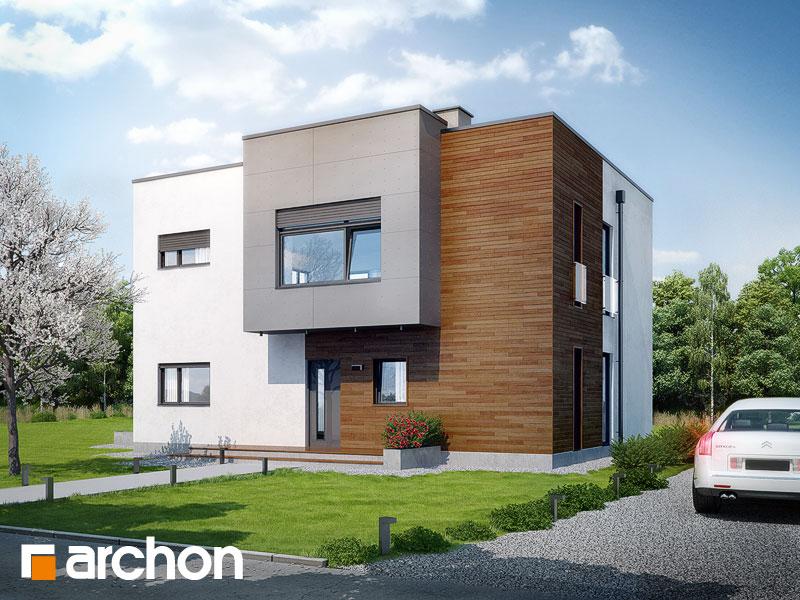 Проекты домов с прямой крышей [1]