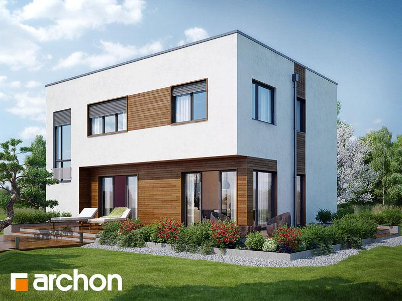 Проекты домов с прямой крышей [2]