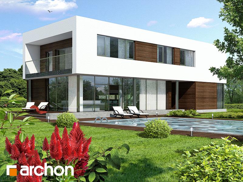 Проекты домов с прямой крышей [3]