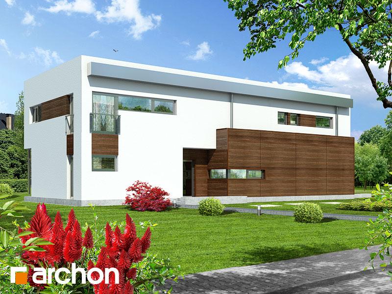 Проекты домов с прямой крышей [5]