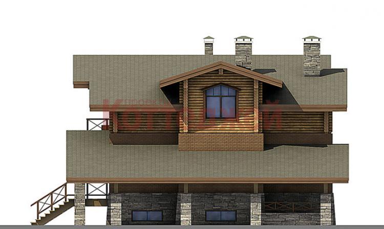 проекты домов типа шале