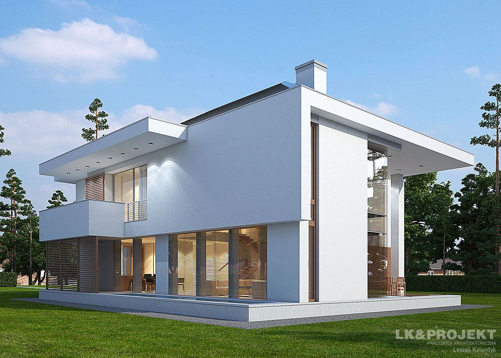 проекты компактных двухэтажных домов