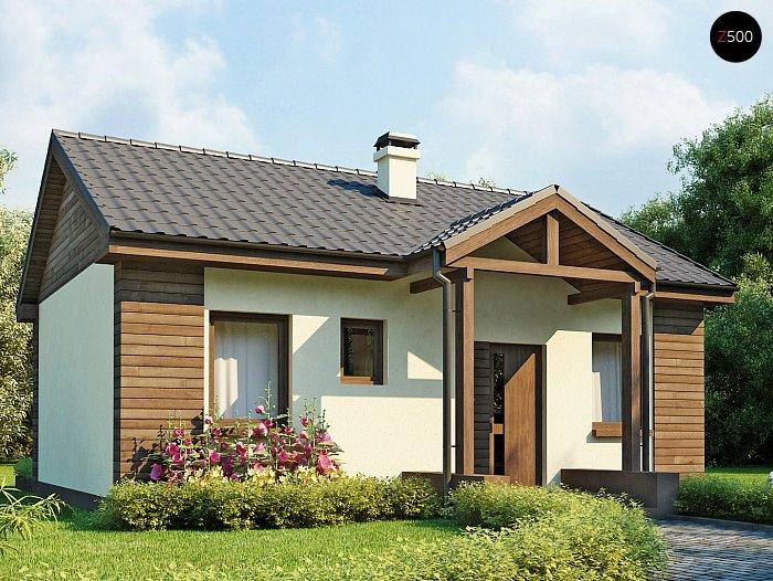проекты одноэтажных домов недорого 1