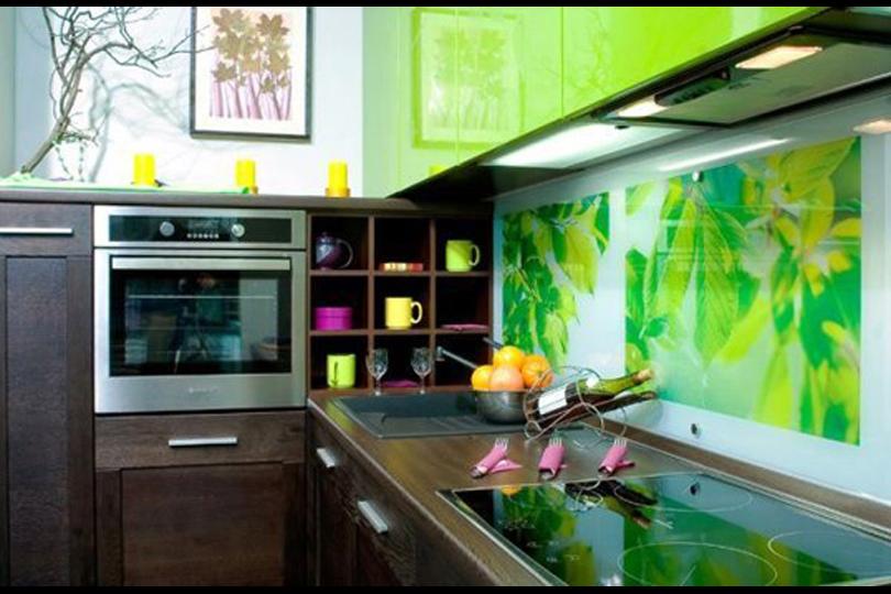Ремонт на кухне своими руками фото обои