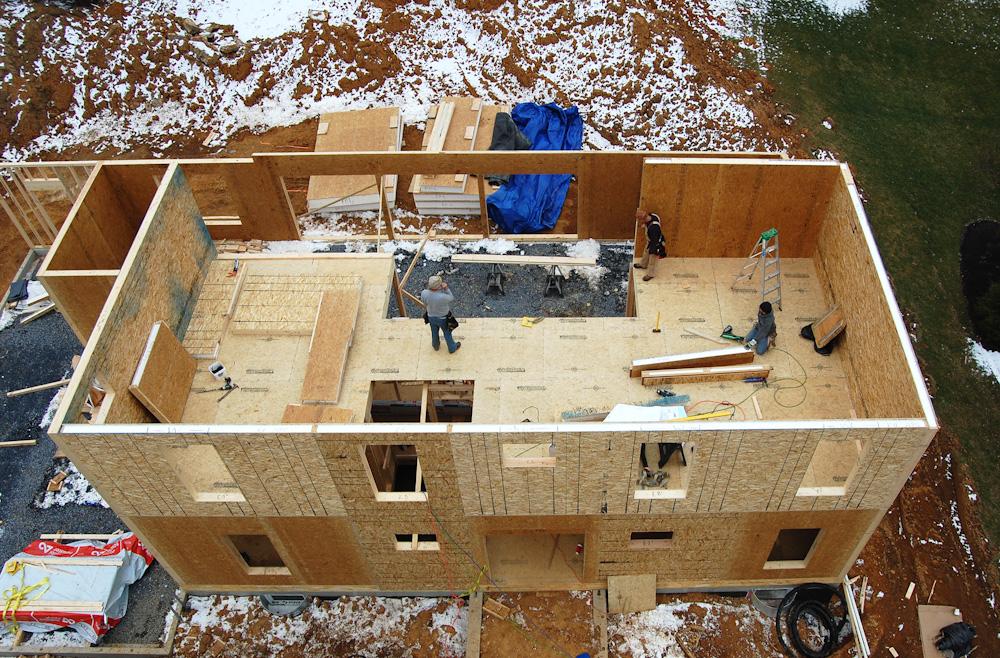 Построить дом из сип панели своими руками
