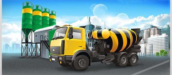 Производство бетона в Московской области, фундаментные блоки – цена доступна
