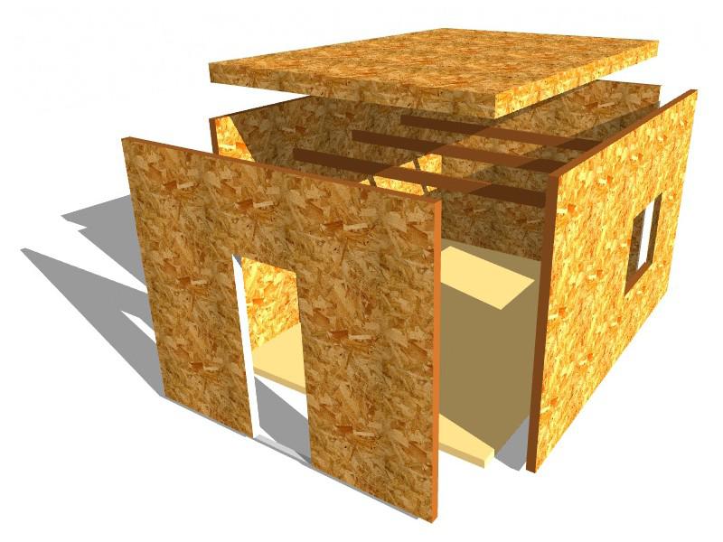 Сфера применения плит OSB