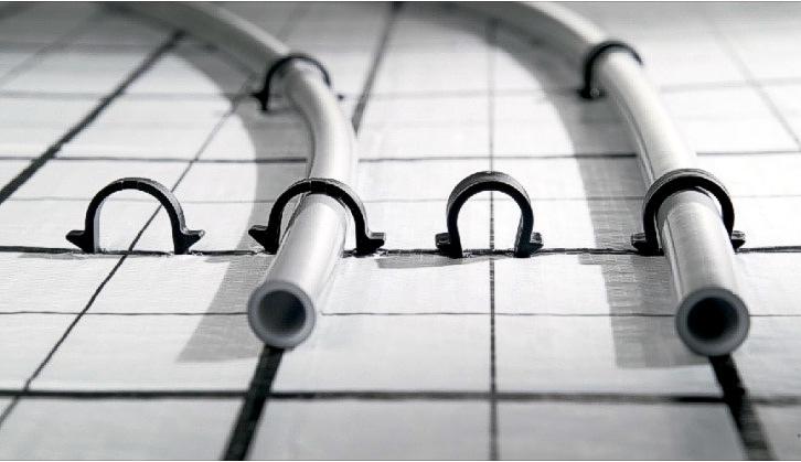 Выбор труб для водяного теплого пола