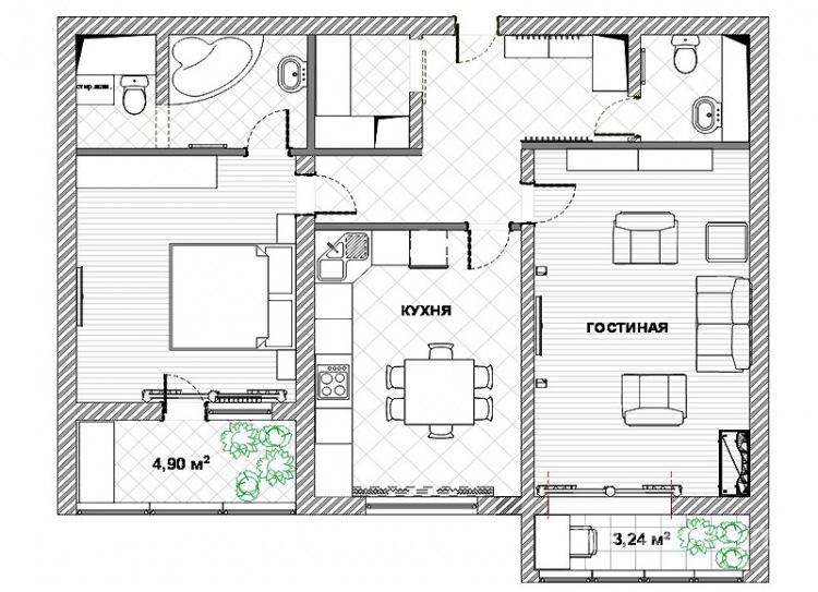 Делаем ремонт в квартире: планировка