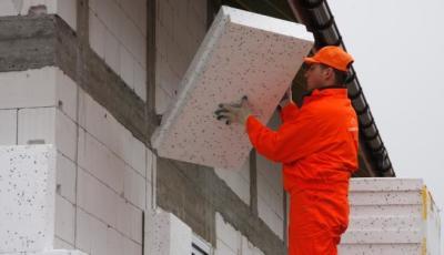 Утепление постройки из пеноблоков
