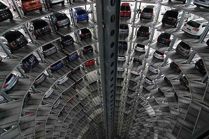 Как построить паркинг?