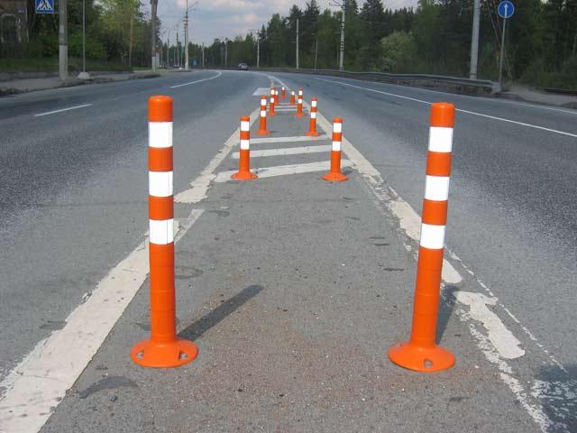 Дорожные столбики и их свойства