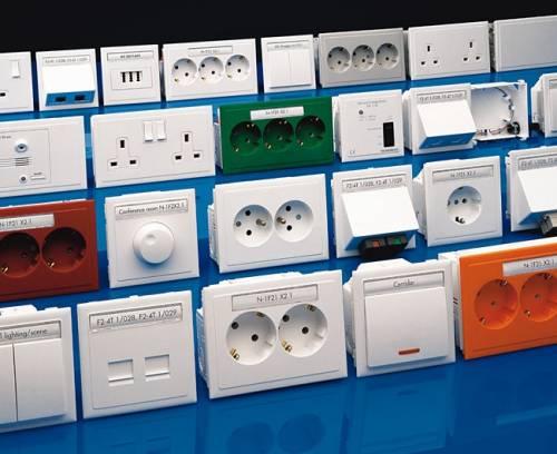 Современные электроустановочные изделия