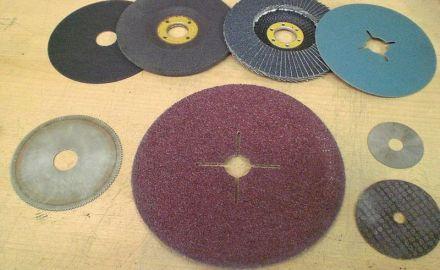 Использование шлифовальных дисков при ремонте