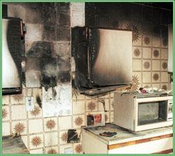 Копоть после пожара