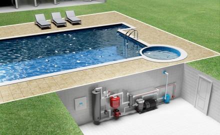 Водонагреватель для бассейна