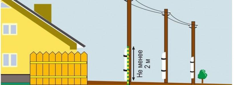 На каком расстоянии от линий электропередач строить дом?
