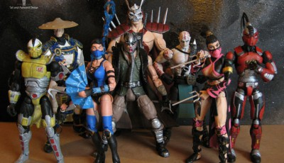 Фигурки Mortal Kombat: битва между добром и злом