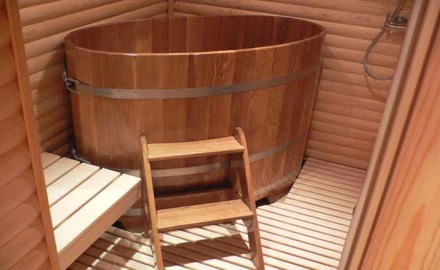 Баня-бочка: удобная конструкция для водных процедур