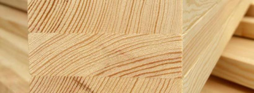 Оконный брус из сибирской лиственницы