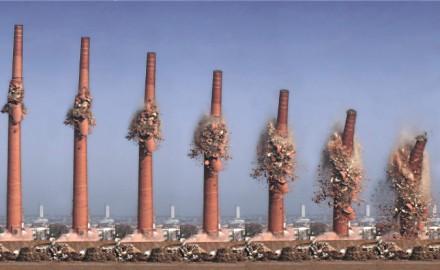 Особенности демонтажа дымовых труб