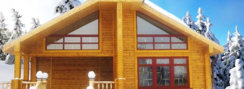 Суть технологий каркасных домов и домов из профилированного бруса