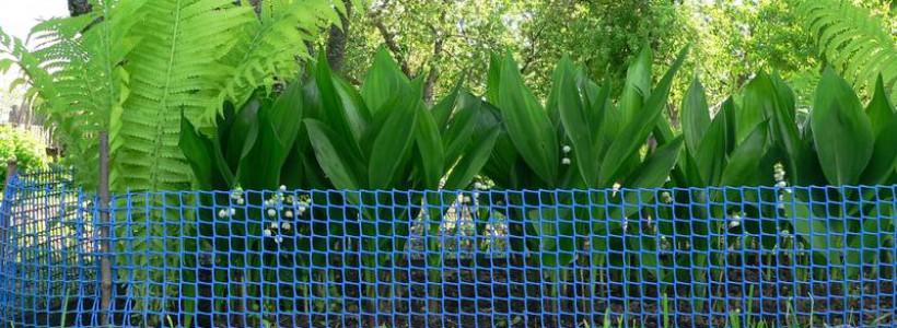 Назначение заборов и сеток из пластика