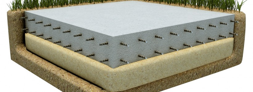 Технология строительства фундамента «монолитная плита»