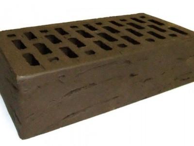 Кирпич облицовочный Браер коричневый риф 1НФ