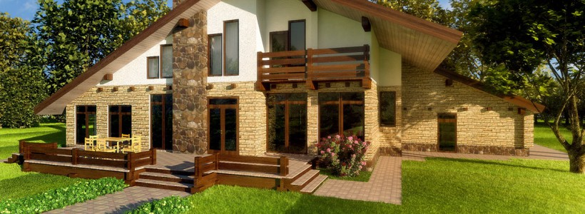 Проектирование загородных домов. Выбор стенового материала