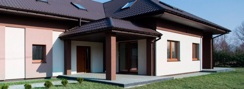 Современный одноэтажный дом