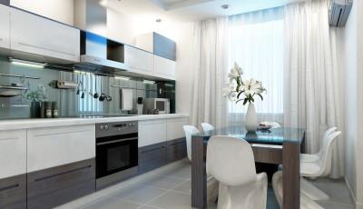 Совеременная кухня в стиле модерн