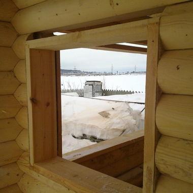 Оконные проемы в деревянном доме: процесс и оборудование