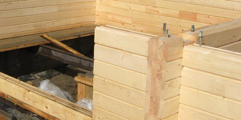Строить баню из бревна своими руками пошагово