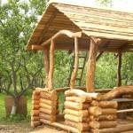 Беседки для дачи своими руками: стальные, деревянные, каменные