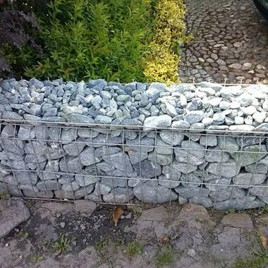 Забор из камней своими руками фото 76